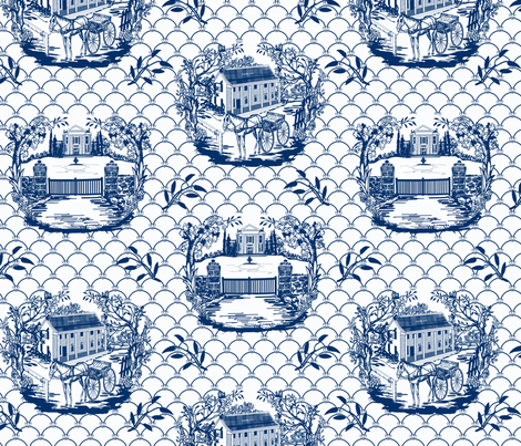 Constableville fabric by kriskross on Spoonflower - custom fabric