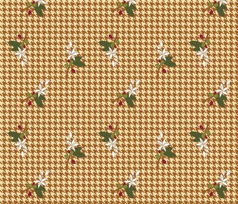 Coffee Houndstooth 01 fabric by mysteek on Spoonflower - custom fabric