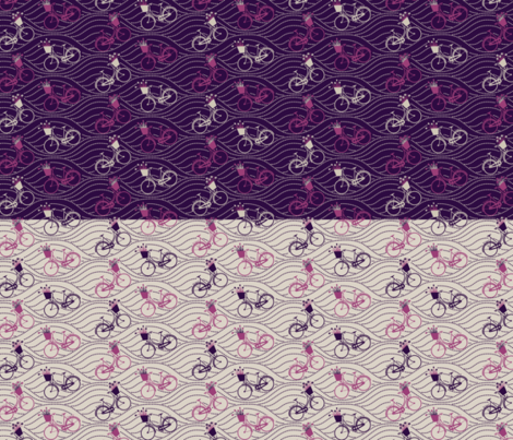 2in1Yard BIKES fabric by natasha_k_ on Spoonflower - custom fabric