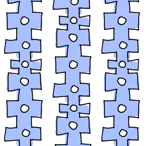 knobby doodle dot fabric by pattyryboltdesigns on Spoonflower - custom fabric