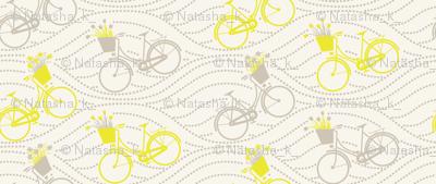 bikes up & down_yellow&grey