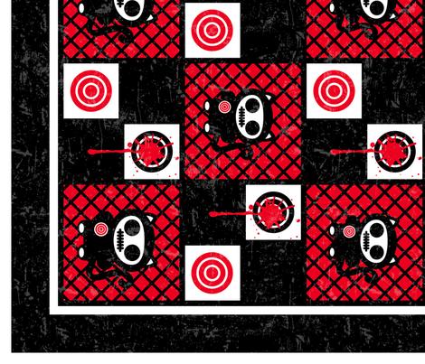 Lil Creeps Cheater Quilt fabric by mysteek on Spoonflower - custom fabric
