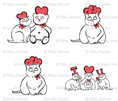 Valentine4Pillows