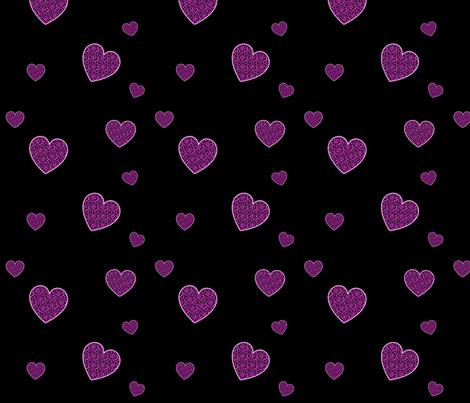 PinkLeopardHearts fabric by eerie_doll on Spoonflower - custom fabric