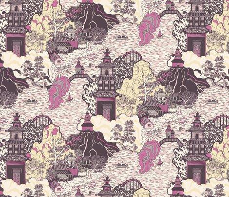 Oriental_pagodas_a3_teja_williams_shop_preview