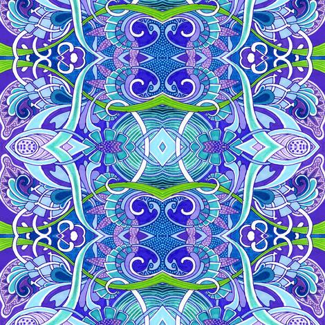 Tropical Fish Tank fabric by edsel2084 on Spoonflower - custom fabric
