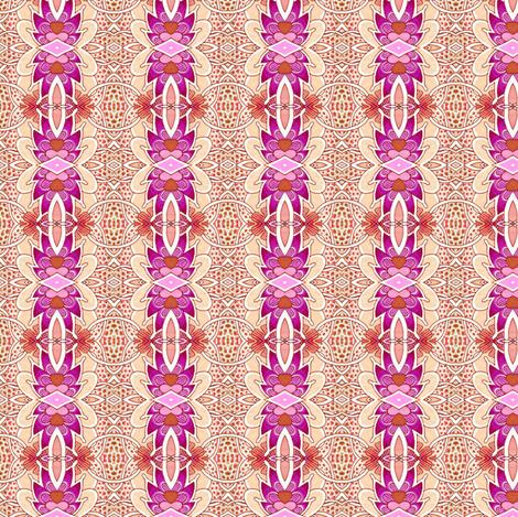 Hawaiian Giraffe Skin Luau Vertical Stripe fabric by edsel2084 on Spoonflower - custom fabric