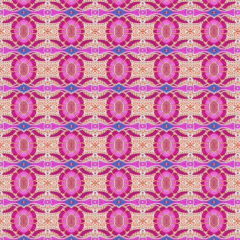 When Flower Power Attends Boot Camp fabric by edsel2084 on Spoonflower - custom fabric