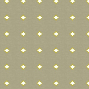 Diamond on Linen