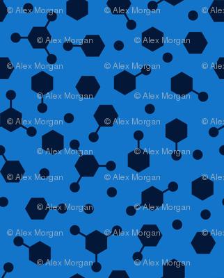 Hydrocarbon Ditsy Blue
