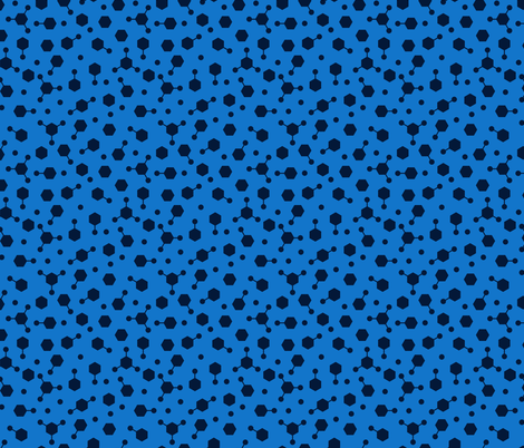 Hydrocarbon Ditsy Blue fabric by spellstone on Spoonflower - custom fabric