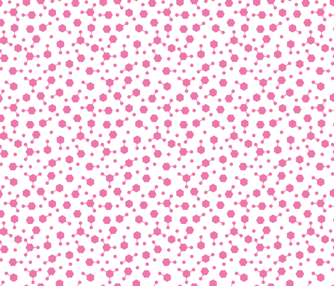 Hydrocarbon Ditsy Pink fabric by spellstone on Spoonflower - custom fabric