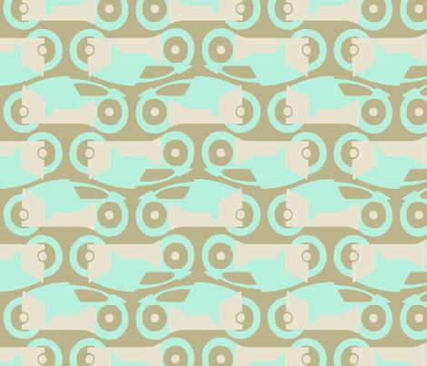 Light Cycles fabric by mongiesama on Spoonflower - custom fabric