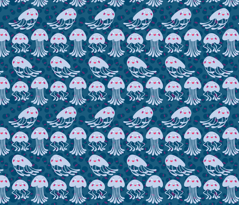 jellyfish_fun fabric by maziza on Spoonflower - custom fabric