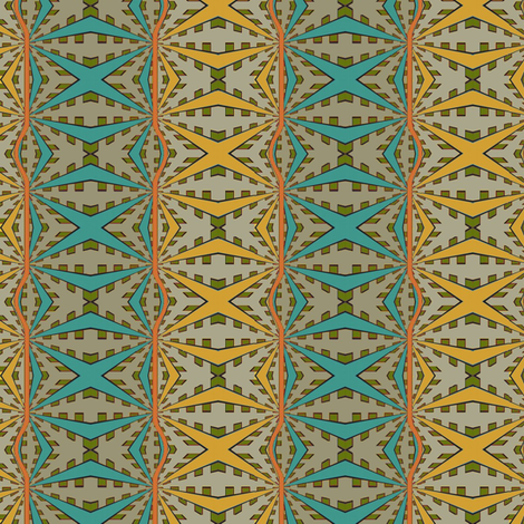 Tonga (Spring) fabric by david_kent_collections on Spoonflower - custom fabric