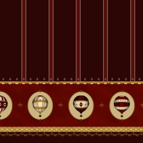 Imperial Ballons Wine, Skirt Length