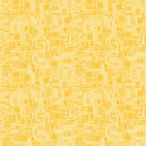 Yellow Circuit -Small