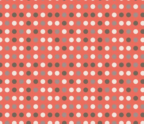 Tangled Butterflies II - Dots fabric by noaleco on Spoonflower - custom fabric