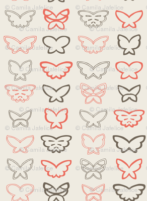 Tangled Butterflies II - Geometric