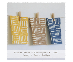 Wicket Press - Indigo