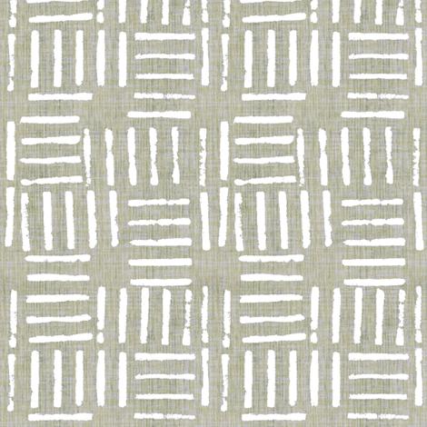 Wicket Press - Sage fabric by kristopherk on Spoonflower - custom fabric