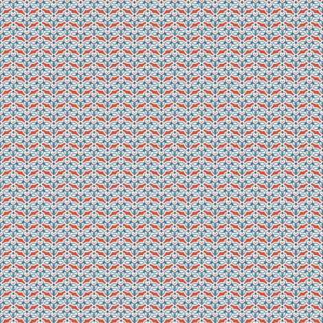 smileybee rwb fabric by glimmericks on Spoonflower - custom fabric