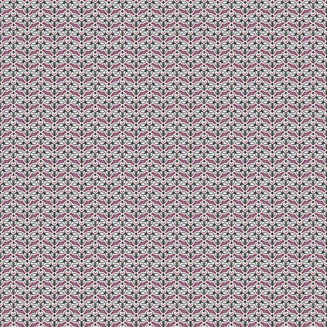 smileybee violet tendencies fabric by glimmericks on Spoonflower - custom fabric