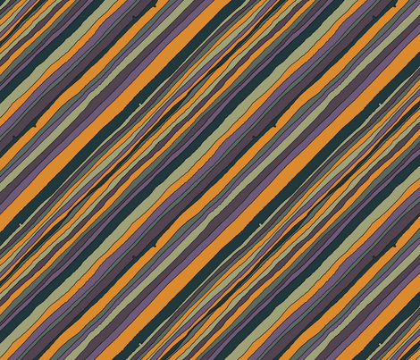 Desert Stripes fabric by seidabacon on Spoonflower - custom fabric