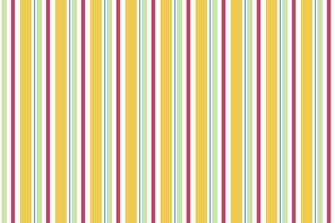 Candy_Stripe_Yellow fabric by designedtoat on Spoonflower - custom fabric