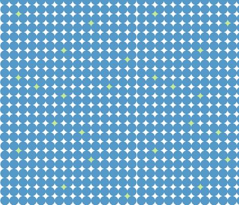 Starry_Night_Blue fabric by designedtoat on Spoonflower - custom fabric
