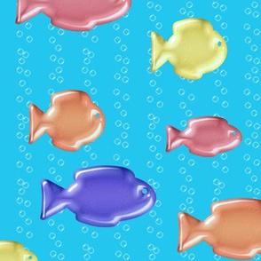 Jelly Fish in a Soda Sea