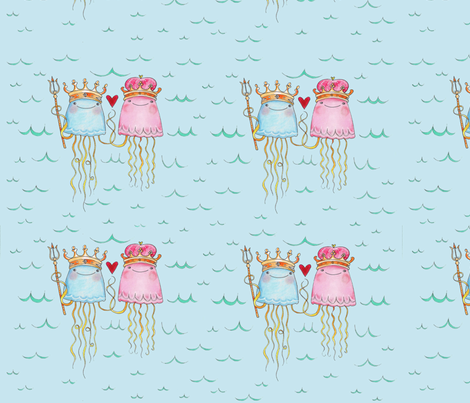 royal_jelly2 fabric by paintingbliss on Spoonflower - custom fabric