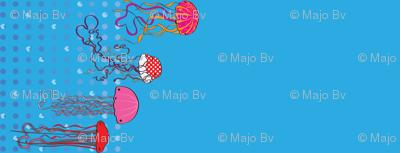 Jellyfish Valentines (border)