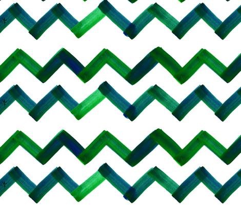 cestlaviv_newemerald18ultra fabric by cest_la_viv on Spoonflower - custom fabric