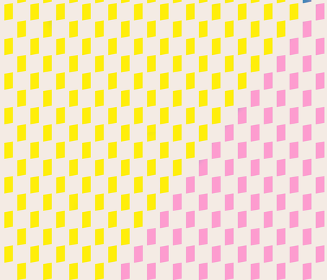 pink blue yellow basket 40 inch repeat fabric by cristinapires on Spoonflower - custom fabric