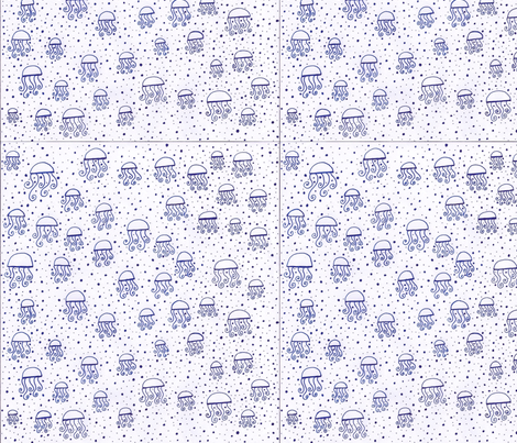 bluejelly fabric by thecozybarn on Spoonflower - custom fabric