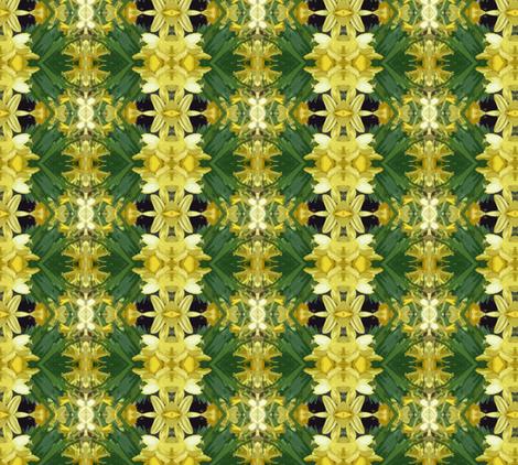 Daffodil Time fabric by susaninparis on Spoonflower - custom fabric
