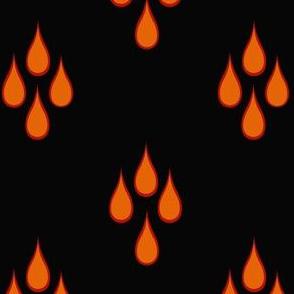 flame drip
