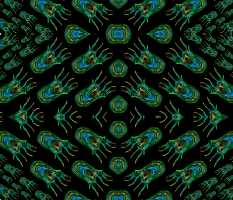 jellies_5 fabric by samisen on Spoonflower - custom fabric