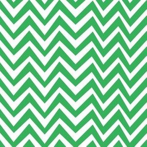 Green Chevron Dazzle