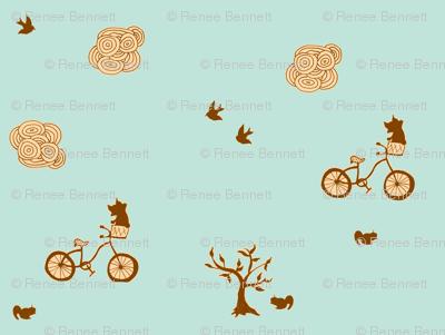 bicycle brown