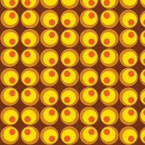 circles brown