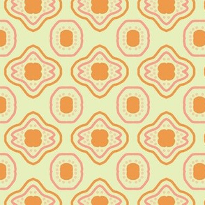 Orange Lemon Mosaic