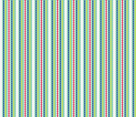 peacock_stripes fabric by gsonge on Spoonflower - custom fabric