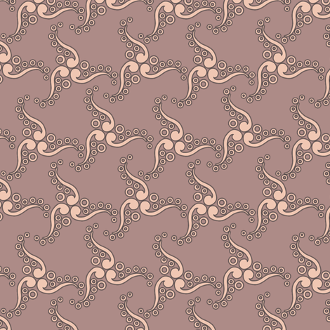 spinner wood rose fabric by glimmericks on Spoonflower - custom fabric