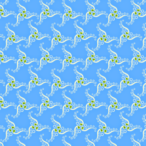 spinner ocean fabric by glimmericks on Spoonflower - custom fabric
