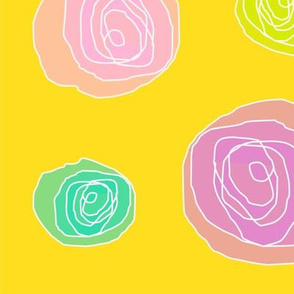 Abstract Roses - Mango
