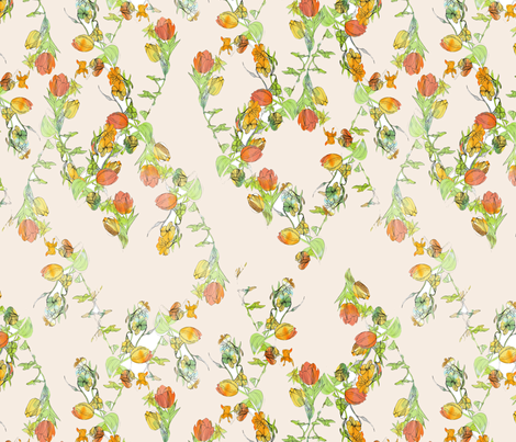 Mary Davis fabric by wolfie_and_the_sneak on Spoonflower - custom fabric