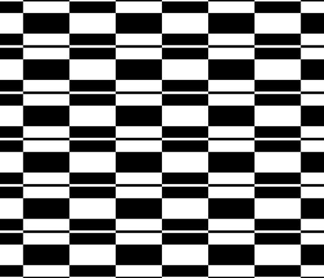 Blocky 4 fabric by animotaxis on Spoonflower - custom fabric