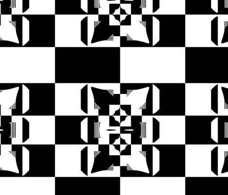 Blocky 7 fabric by animotaxis on Spoonflower - custom fabric
